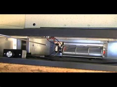 Gas Fireplace Blower Installation by Fk24 Fireplace Blower Kit Installation