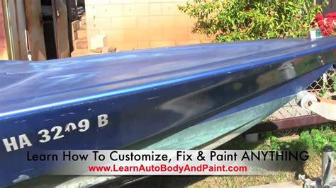 boat canopy paint learnautobodyandpaint speed boat auto body painting