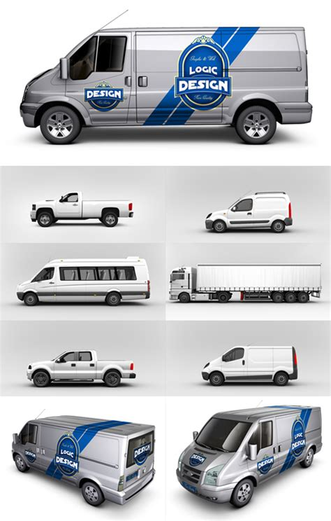 free vehicle templates for wraps 10 mockup psd free images photoshop psd free