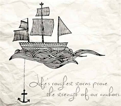 anchor tattoo love this quote tattoos pinterest