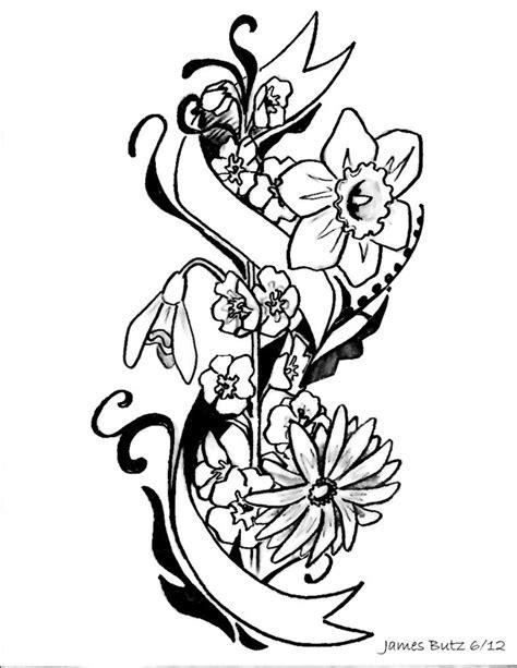 tattoo flower sketch flower tattoo sketches tattoo pinterest tattoo