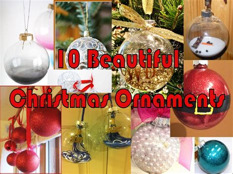 10 beautiful christmas diy ornaments