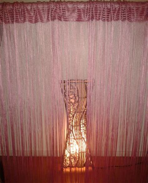 curtain hanging options this image is of a 300cm wide string curtain gathered to