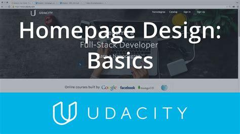 homepage designer homepage design ux ui design product design udacity