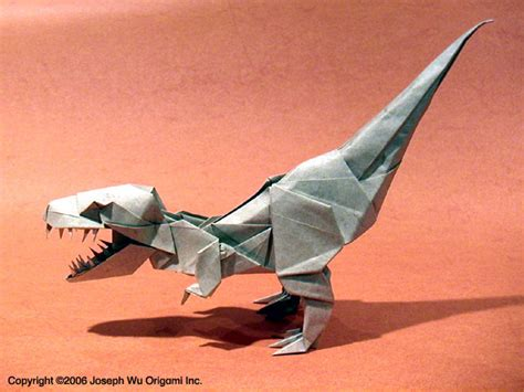 Origami T Rex - the origami forum view topic what you folded lately