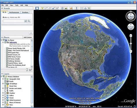 earth map view 3d earth 6 2 3d view