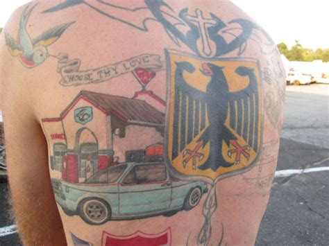 hardtuned s look at automotive tattoos