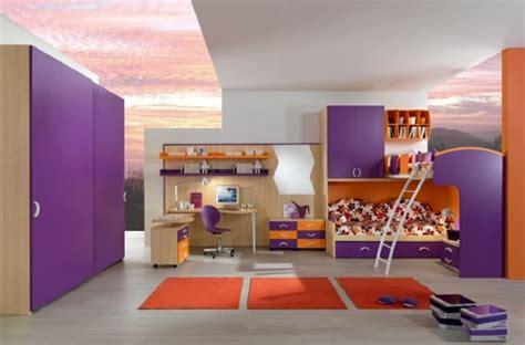 deco chambre enfant une chambre moderne en violet
