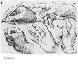 Line drawing of hands contour line drawing of a foot contour line