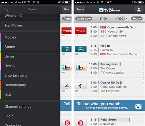 tv guide for android best tv listings for android
