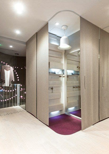 store dressing room ideas changing room at the princesse tam tam shop in retail interior spaces