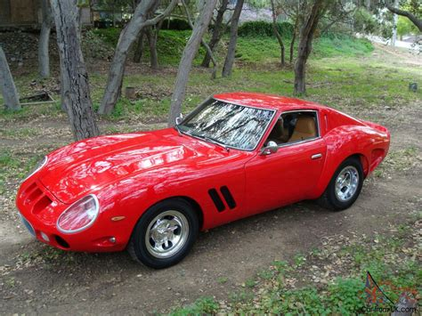 fake ferrari for sale 1962 ferrari 250 gto replica