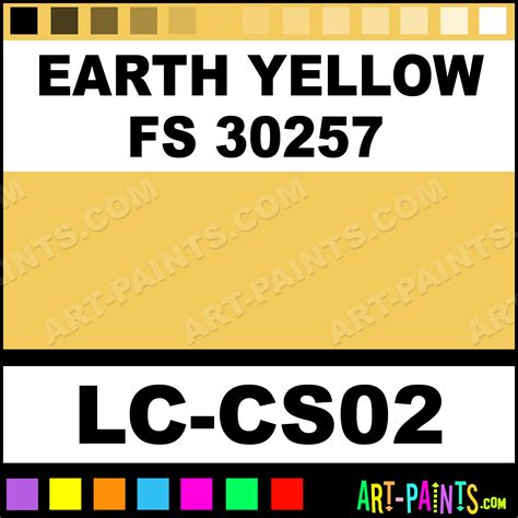 earth yellow fs 30257 nato merdc airbrush spray paints lc cs02 earth yellow fs 30257 paint