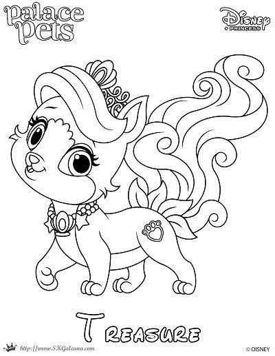 princess puppy coloring page princess palace pet coloring page of treasure skgaleana