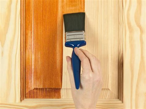how to do woodwork how to apply stain varnish wax dye or to wood how