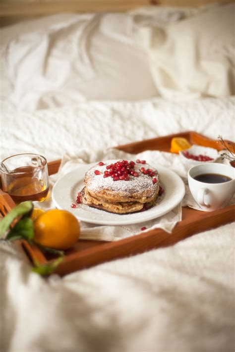 breakfast in bed breakfast in bed meyer lemon ricotta pancakes woodland