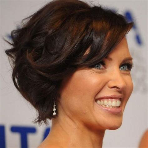 easy medium hairstyles for thick hair 15 best ideas of bob hairstyles for wavy thick hair