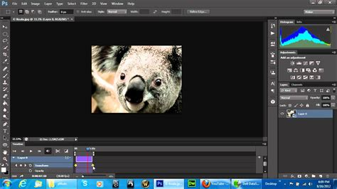 zoom effect in photoshop digiretus com ps6 quick tip timeline pan zoom video editing effect