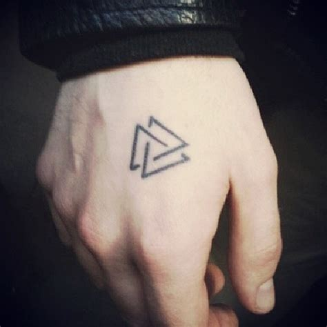 three triangles ink triangles