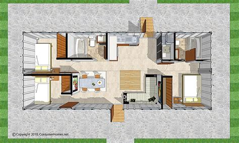 Floor Plan Container House Pinterest Container Homes House Plans For Container Homes