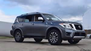 Road Nissan Armada 2017 Nissan Armada Road Test Review