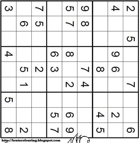 printable sudoku very easy printable sudoku