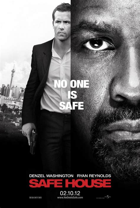 safe house trailer filmclubnuevo poster y trailer para safe house con denzel washington y ryan reynolds
