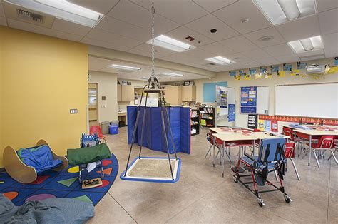 special education room setup erickson construction san elijo elementary school classroom building addition