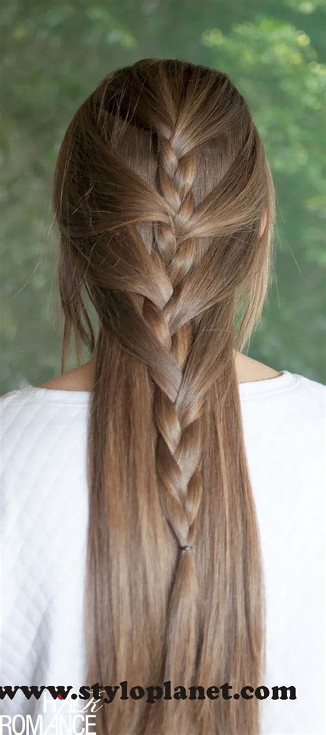 how to make french braids step by step french braid step by step tutorial for girls stylo planet