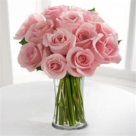 Pink Roses In A Vase by Pink Roses In Vase Www Imgkid The Image Kid Has It