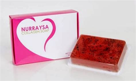 Nurraysa Collagen Soap produk timur tengah nurraysa collagen soap rm40