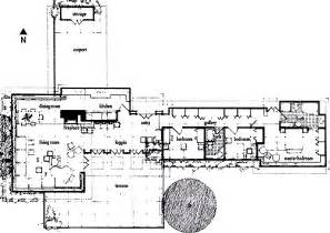 Frank Lloyd Wright House Plans Floorplan Usonian Automatic Traveling Exhibit And The