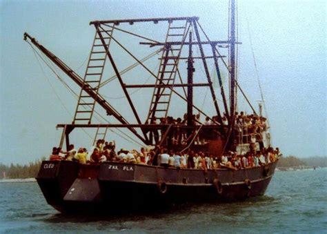 boat lift cuba 1980 mariel boat lift key west home pinterest boat