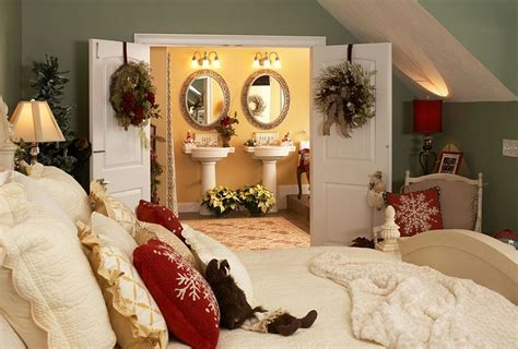 christmas bedroom decorating ideas inspirations