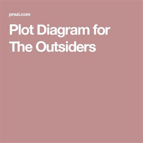 literary themes in the outsiders plot diagram the outsiders and for the on pinterest