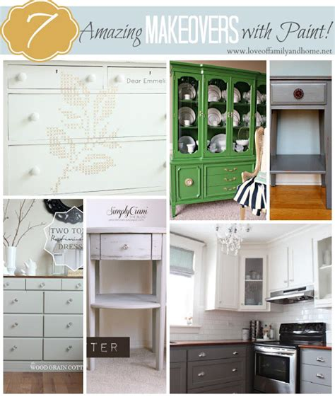 7 Amazing Inside Out Makeovers by 7 Amazing Makeovers With Paint Linky Features