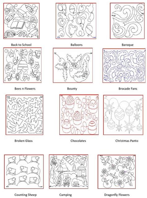 Longarm Quilt Patterns by 467 Best Images About Quilting Longarm Pantographs On