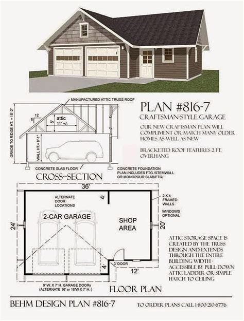 Workshop Garage Plans | best 25 garage plans ideas on pinterest garage design
