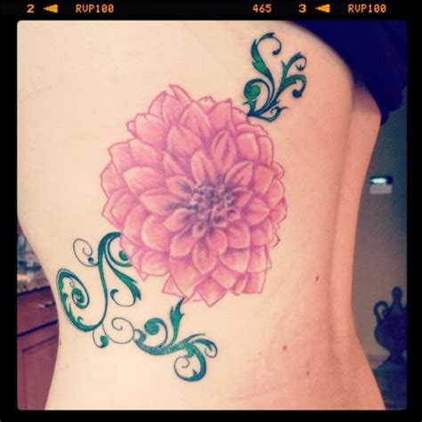 dahlia flower tattoo tattoos pinterest lace dahlia