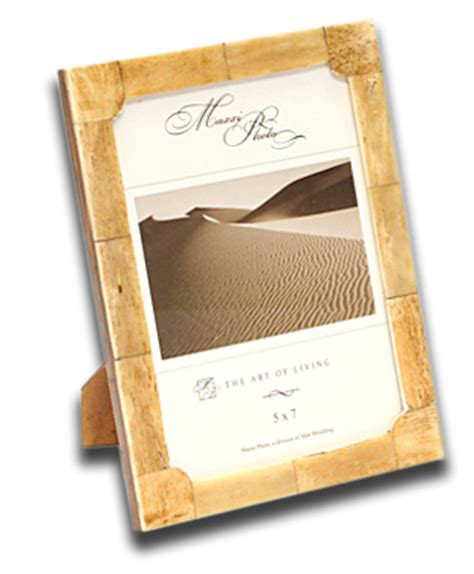 Desk Photo Frames by Water Bufflalo Bone And Horn Photo Desk Frames At The