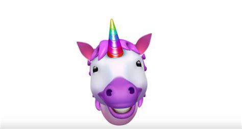 imagenes de unicornios emojis todo sobre los animojis los emojis de apple que cobran