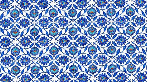 Ottoman Tiles Traditional Blue Turkish Tiles Found In One Of The