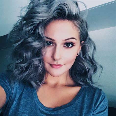 how to get gray hair color 25 b 228 sta blue gray hair id 233 erna p 229 bl 229 tt h 229 r