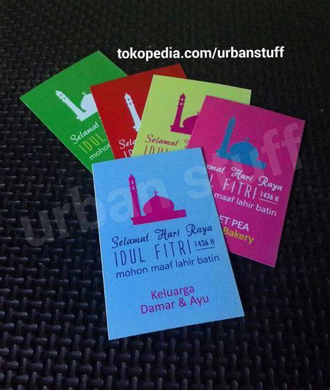 Kartu Ucapan Paskah Dari Dan Kepada Warna Ungu jual parcel kartu ucapan lebaran idul fitri utk parcel bingkisan spl stuff