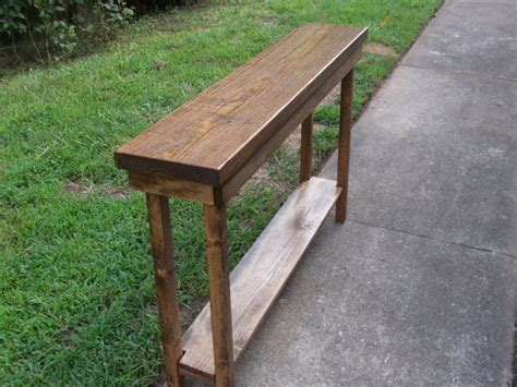 extra narrow sofa table rustic console table extra narrow sofa table entryway