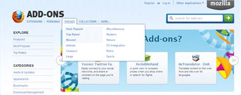 firefox themes tutorial how to find and install the best firefox themes