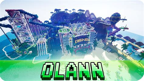 theme park names minecraft minecraft olann island roller coaster theme park map w