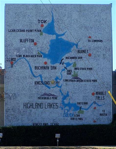 kingsland texas map kingsland texas