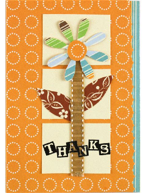make thank you cards scrapbooking
