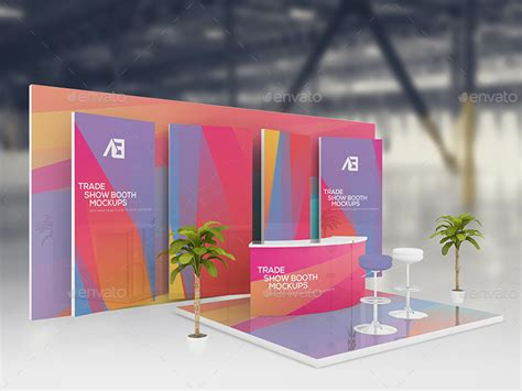 booth design freeware trade show booth mockups v2 by wutip graphicriver